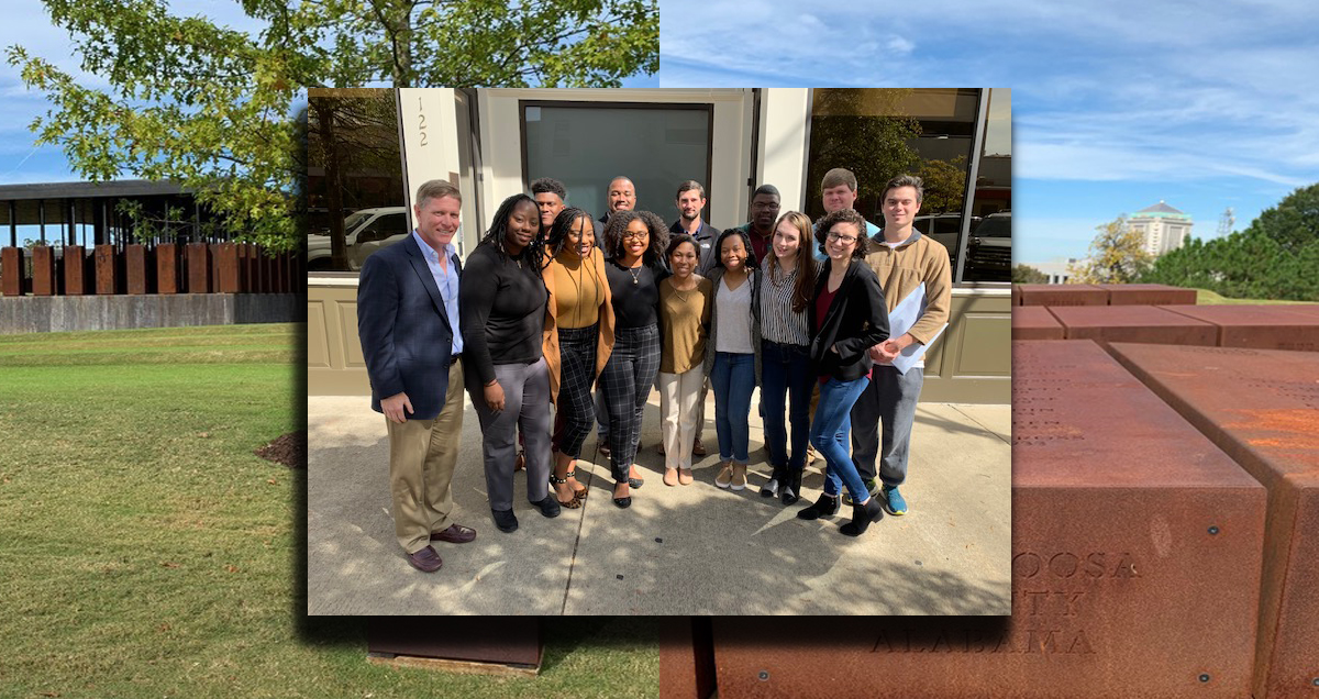 Summersell Center Sponsors Visit to EJI Offices in Montgomery