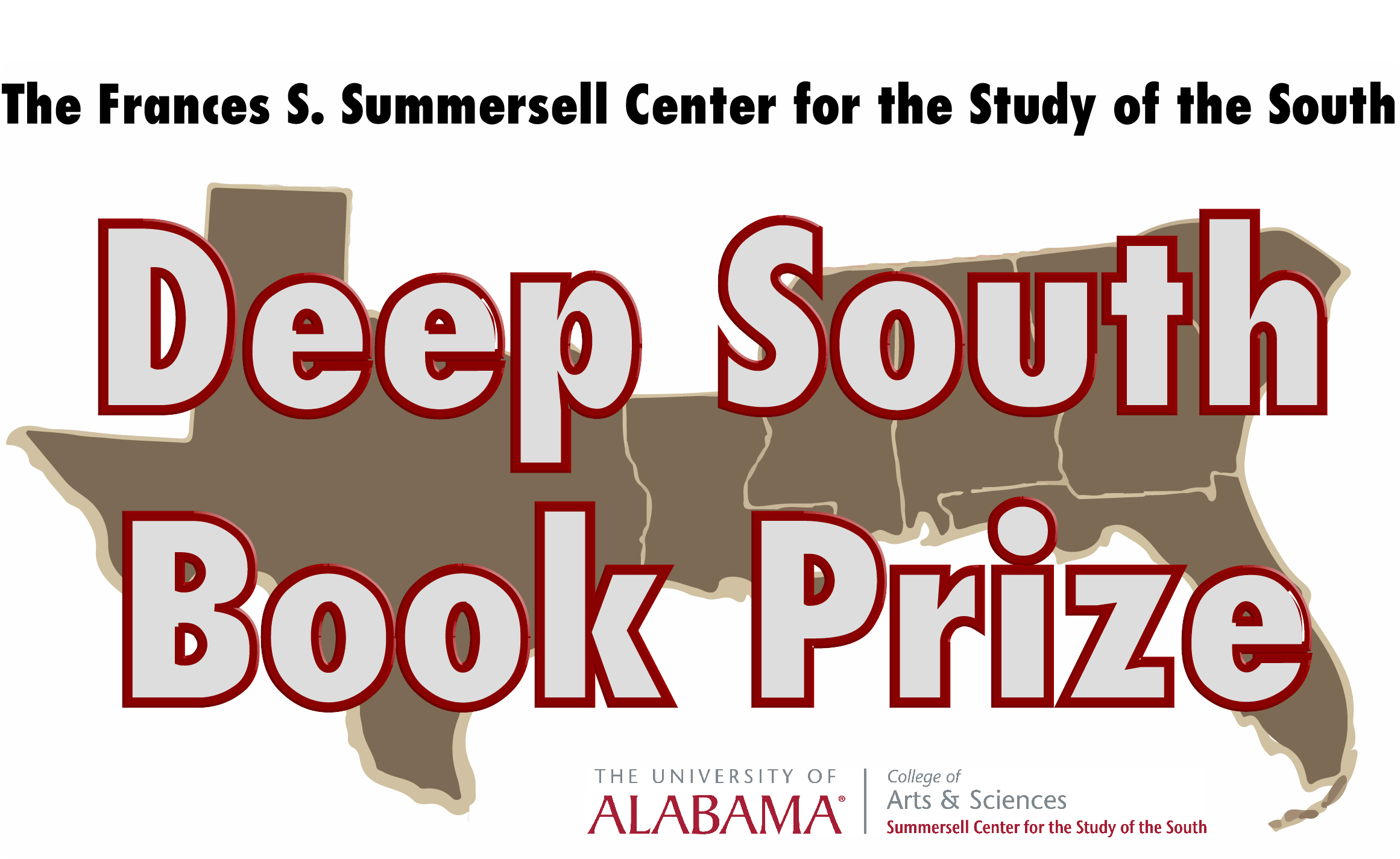 This image is a logo for the Deep South Book Prize