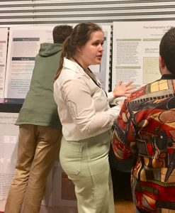 Isabella Garrison Presents her research