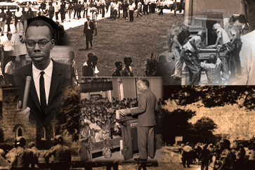 Civil Rights Collage of Tuscaloosa images